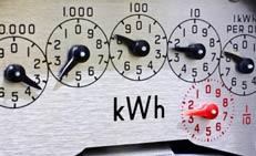 Energy meter dials