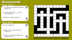 Childcare crossword game