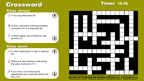 Retail crossword game