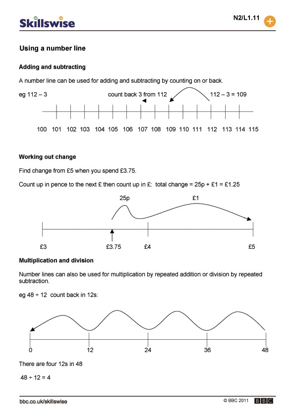 ma01linel1fusinganumberline560x792jpg – Rounding on a Number Line Worksheet
