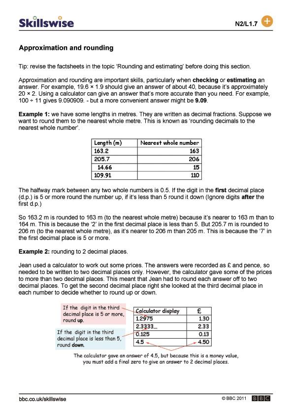 ma04decil1fapproximationandrounding560x792jpg – Rounding Decimals Worksheet Pdf