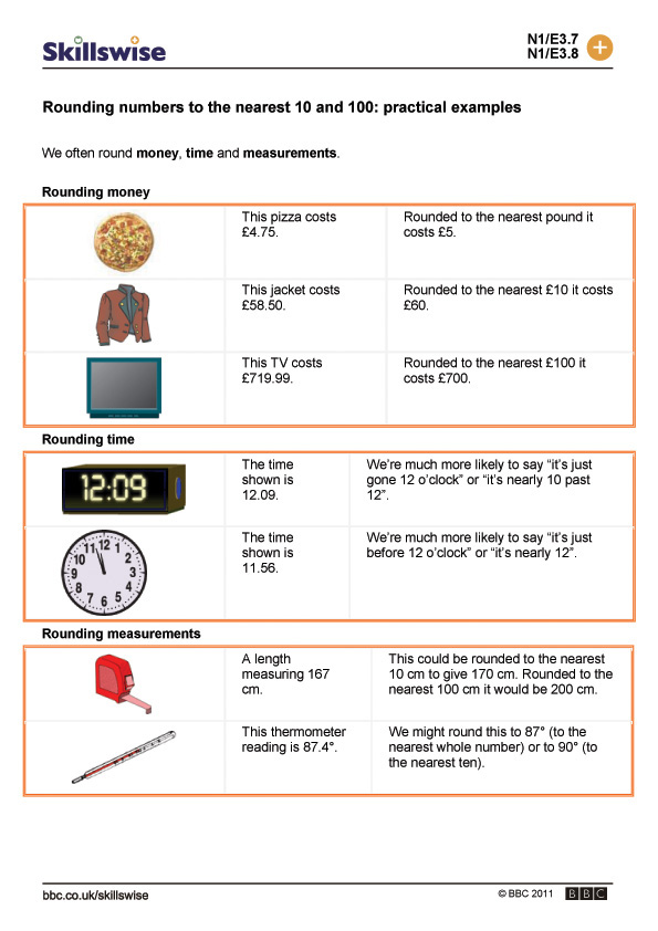 Rounding Numbers To The Nearest 10 And 100 Practical Examples Addition And Subtraction Word Problems Worksheets 3rd Grade Rounding Numbers To The Nearest 10 100 And 1000 Worksheets #13