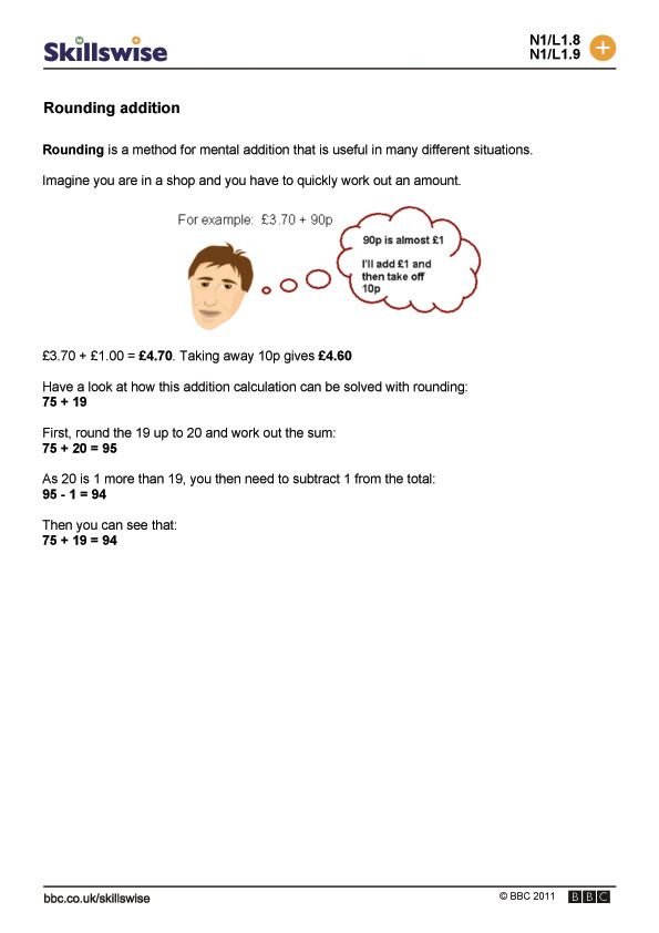 math worksheet : rounding addition : Rounding Addition And Subtraction Worksheets