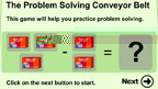 Problem solving with subtraction game