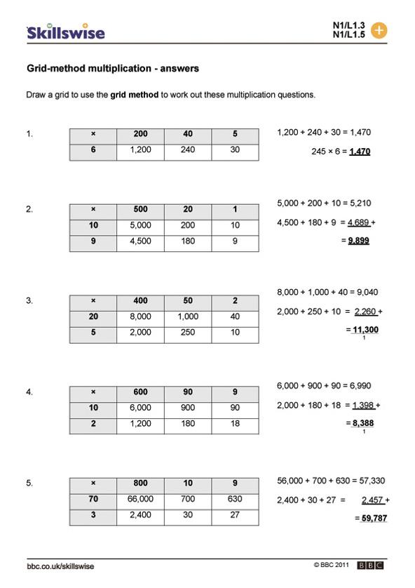 Lattice Multiplication With Decimals Worksheets lattice – Lattice Multiplication with Decimals Worksheets