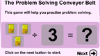 Problem solving with division game