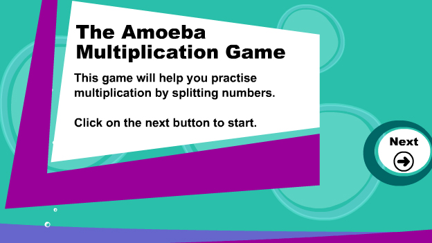 Click to play 'Written multiplication game'