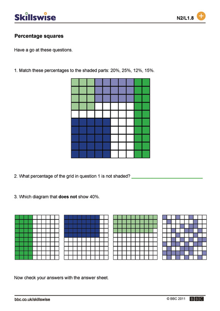 math worksheet : percentage squares : Decimal Squares Worksheets
