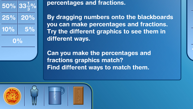 Click to play 'Any fractions methods game'