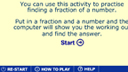 Unit fractions methods game