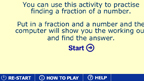 Unit fractions method game