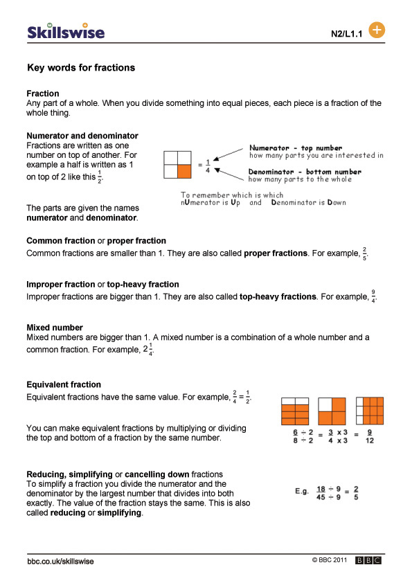 math worksheet : key words for fractions : Writing Fractions In Words Worksheets