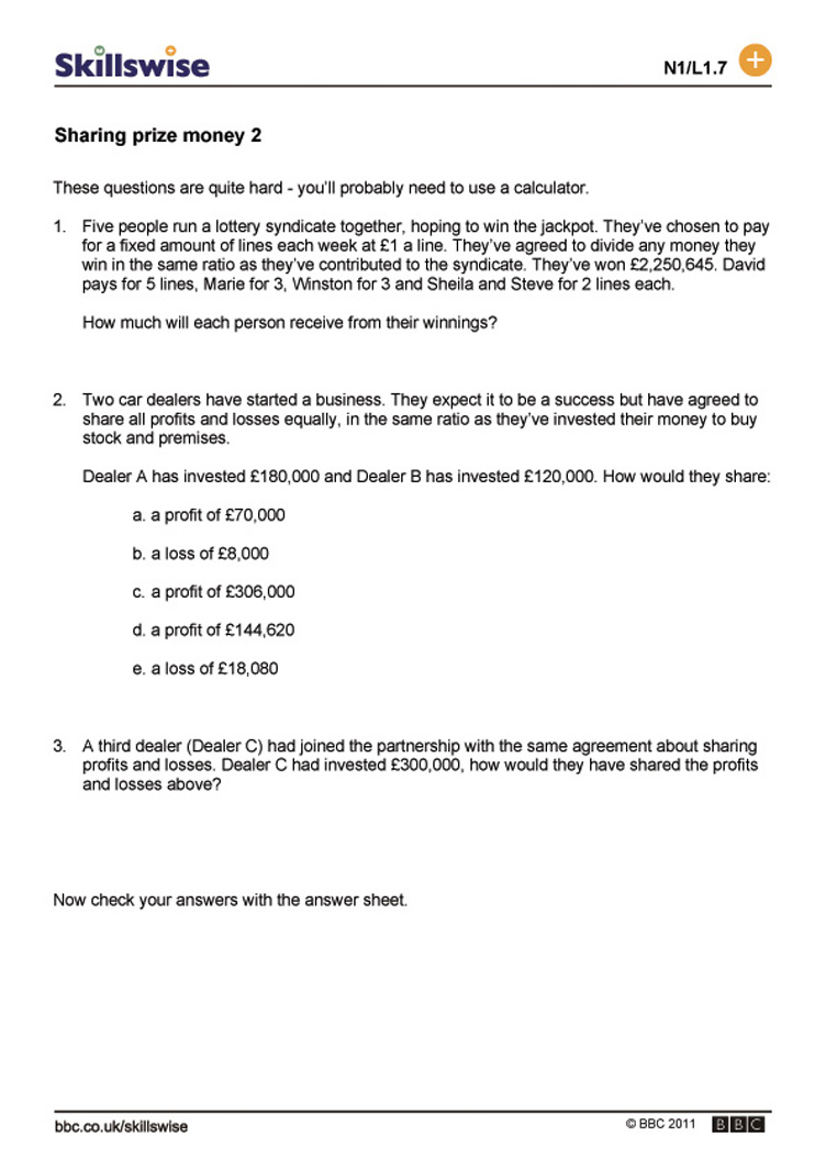 ma19ratil1wsharingprizemoneyprofitandloss752x1065jpg – Profit and Loss Worksheet