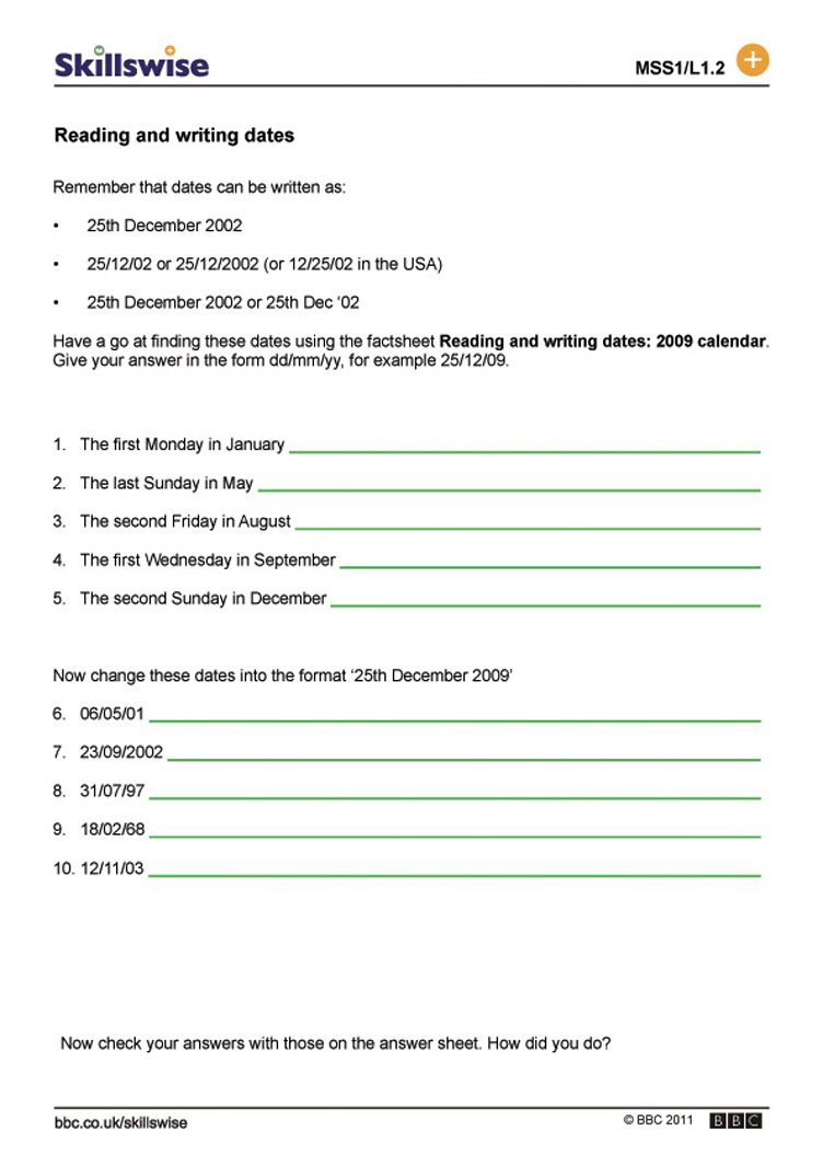 worksheet Esl Writing Worksheets ma25time l1 w reading and writing dates 752x1065 jpg time date worksheet preview