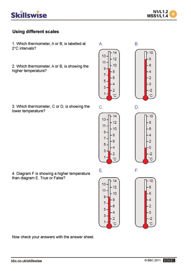ma27templ1wdifferentscales752x1065jpg – Measuring Temperature Worksheets