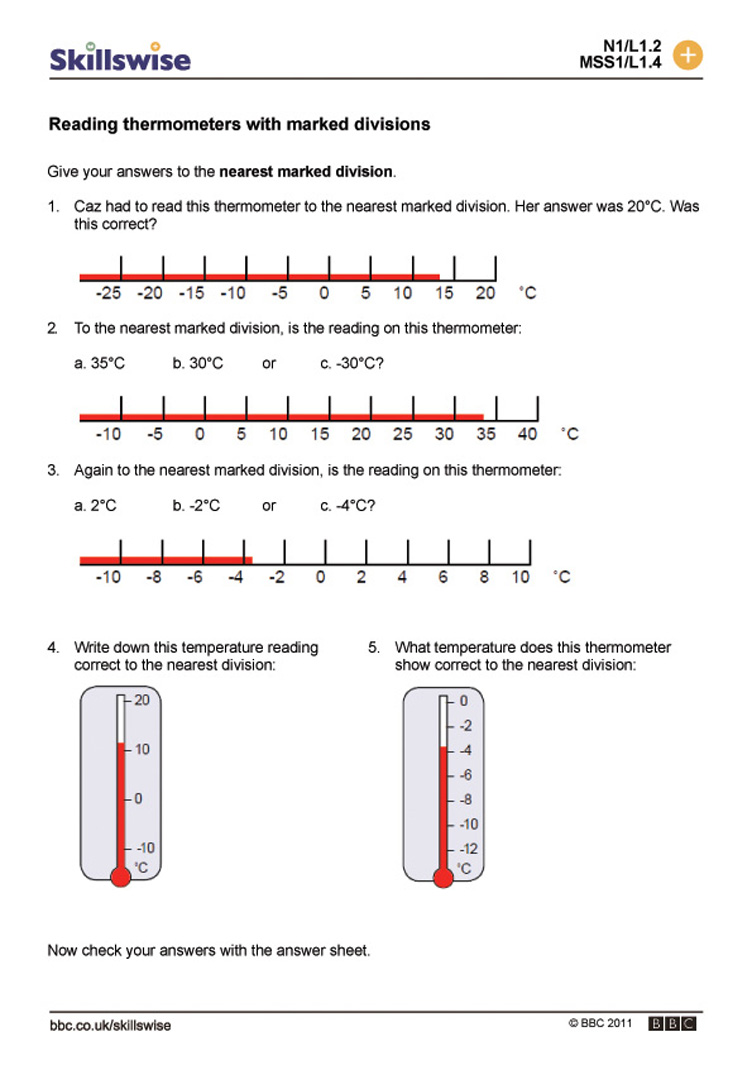 Worksheets Reading A Thermometer Worksheet ma27temp l1 w reading a thermometer with marked div 752x1065 jpg temperature worksheet preview