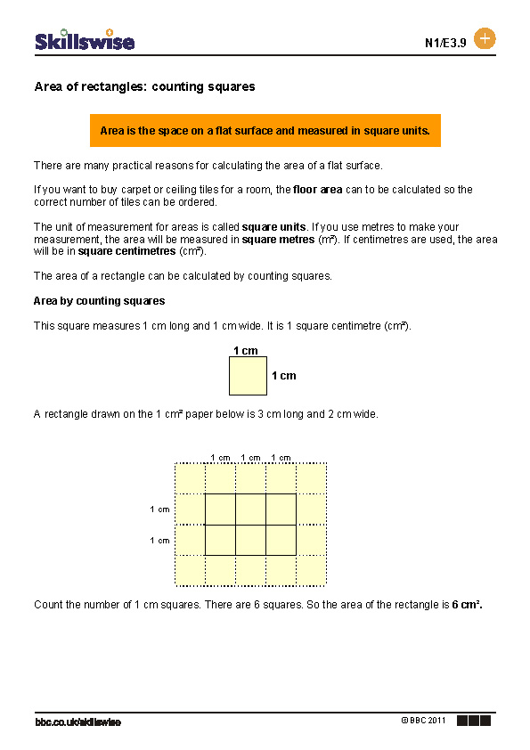 Of Rectangles Counting Squares