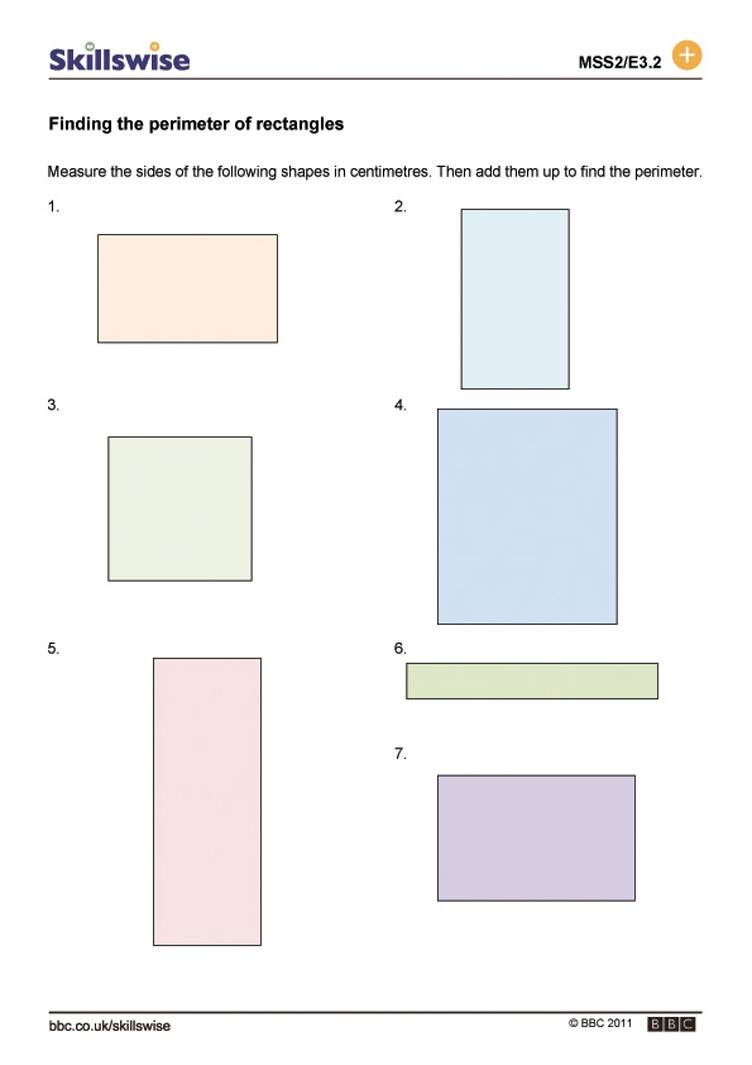 Perimeter Of A Rectangle Worksheet Free Worksheets Library – Area of a Rectangle Worksheet