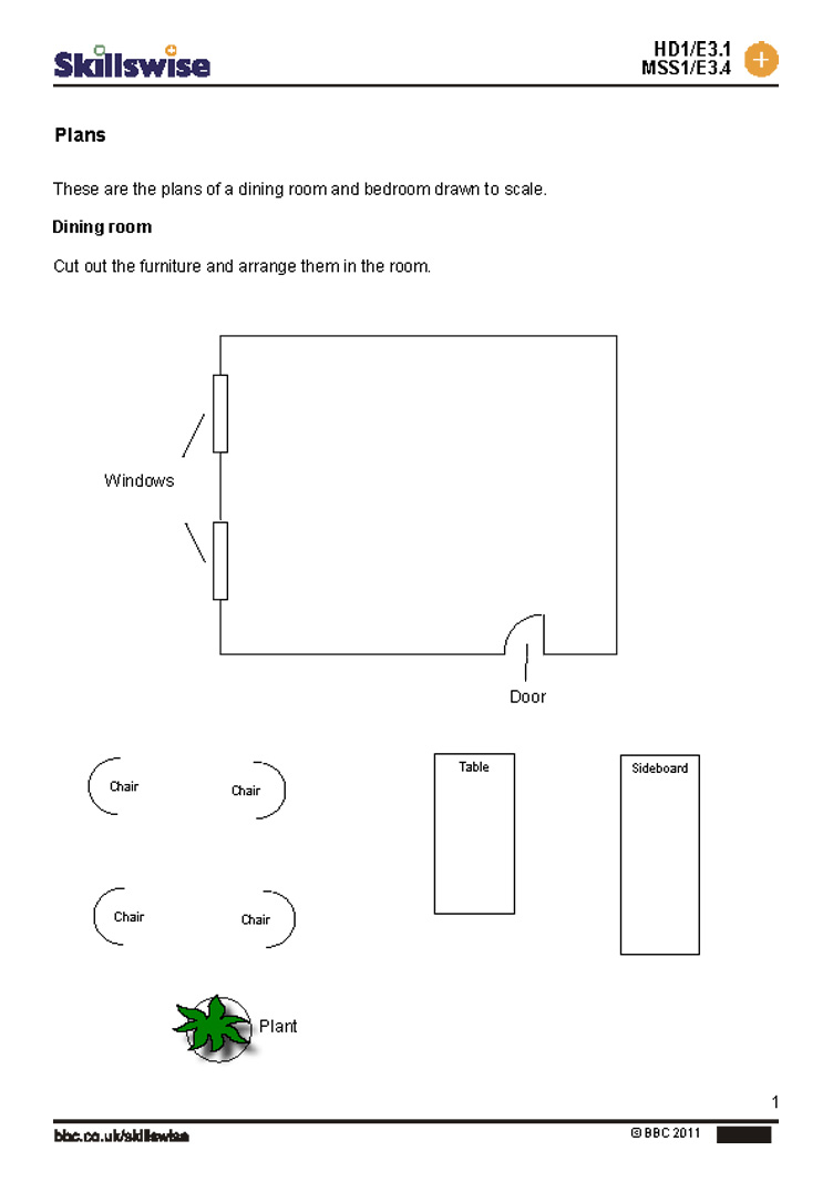 Free Worksheet Maps And Scale Drawings Worksheet room or building plans maps and plans