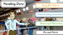 Handling data game