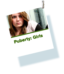 Puberty: girls