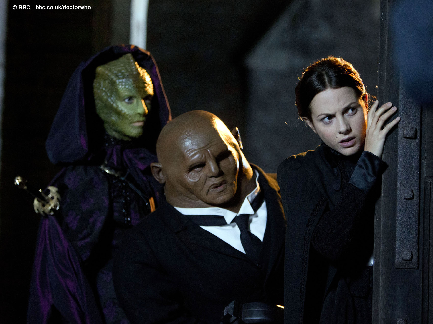 Vastra, Strax and Jenny