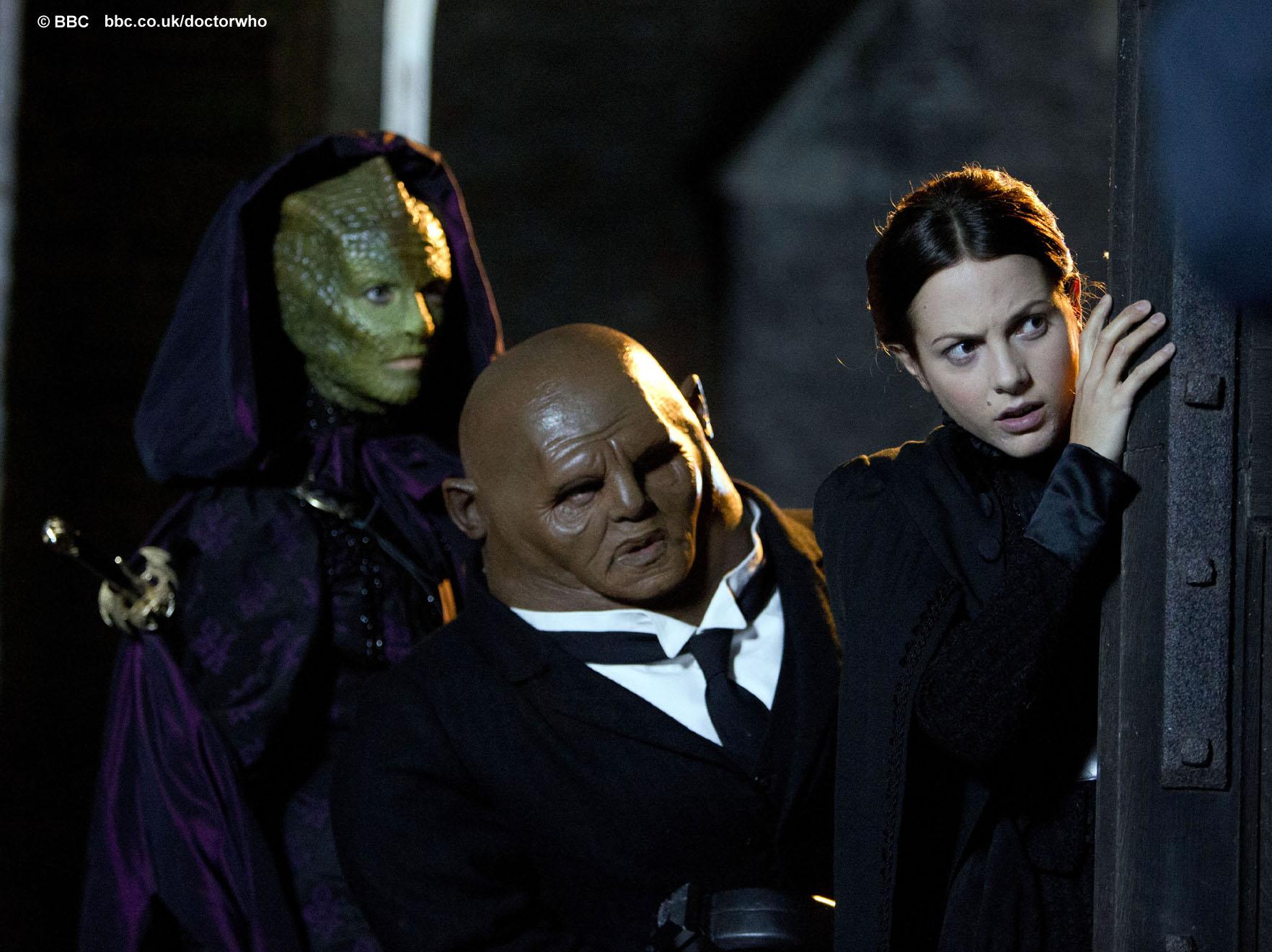 Vastra, Strax and Jenny