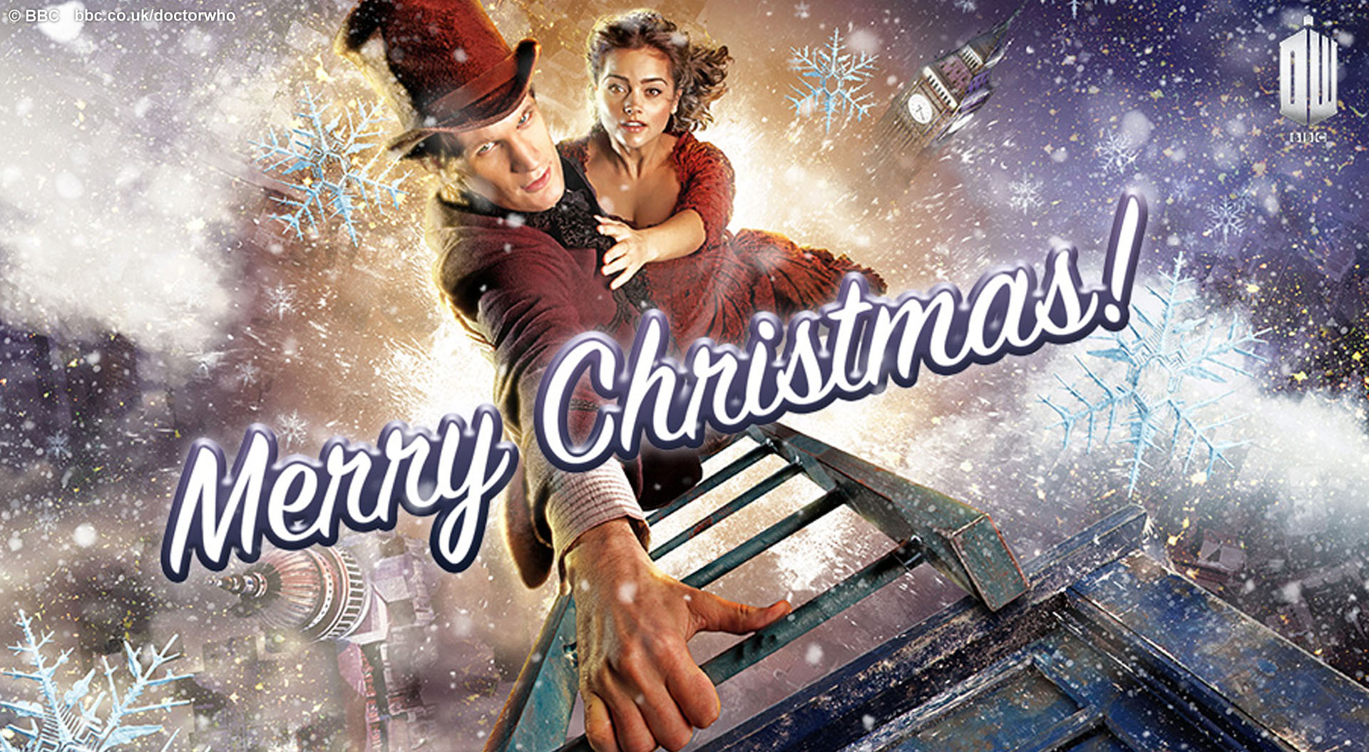 BBC Latest News - Doctor Who - Beautiful Doctor Who Christmas Cards