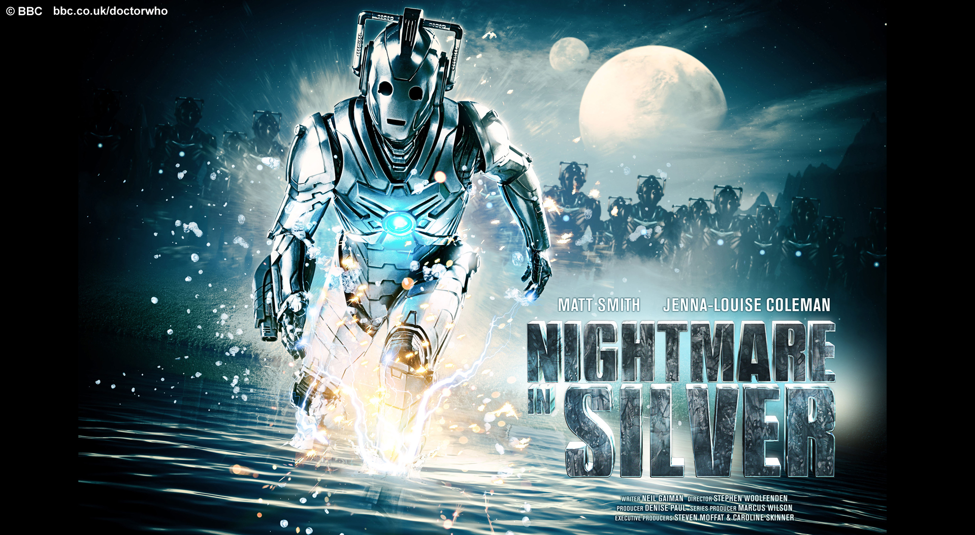 Nightmare In Silver Wallpaper