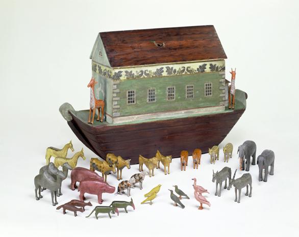 Wooden Toy Noah's Ark