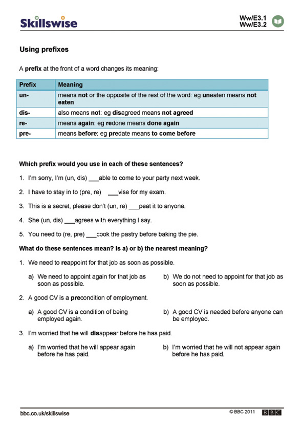 Printable Worksheets suffixes and prefixes worksheets : en17suff-e3-w-using-prefixes-592x838.jpg