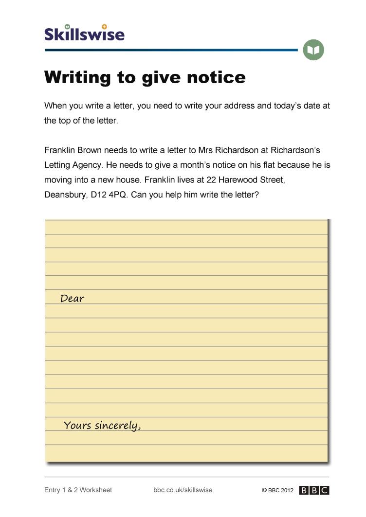 en11lett e1 w writing to give