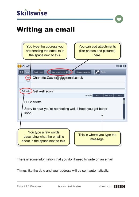 Email Writing Pdf