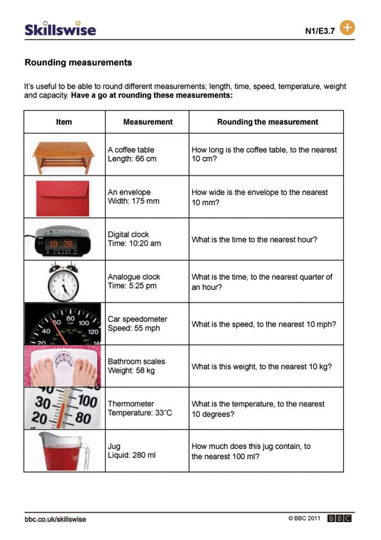 Workbooks measurement worksheets year 5 : ma06roun-e3-w-rounding-measurements-752x1065.jpg
