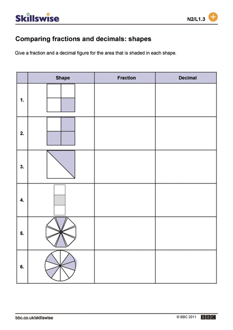 Workbooks percent practice worksheets : Decimals And Fractions Worksheet Free Worksheets Library ...