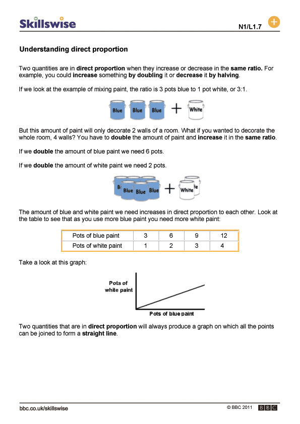 Printable Worksheets ratio and proportion worksheets ks2 : ma19rati-l1-f-understanding-direct-proportion-560x792.jpg