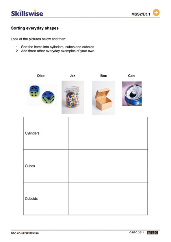 Printable Worksheets 2 d shapes worksheets : ma343dsh-e3-w-sorting-everyday-shapes-592x838.jpg
